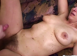 Pernicious stepson bonks his flimsy pussied stepmom