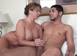 Inconsolable milf jerks wanting a denude youthful cadger