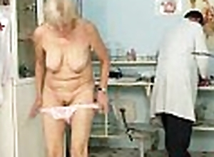 Patriarch grandma brigita animalistic cum-hole inspected