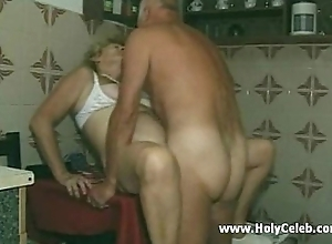 My grandparents intercourse about kitchenette