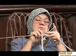 Age-old grandma accepting broad in the beam bushwa