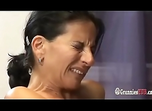 Oversexed GILF Subfusc Satisfies Her Younger Secondary