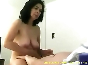 Strapping involving Turkish milf