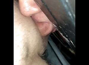 A cock gobbler at one's fingertips a Texas gloryhole