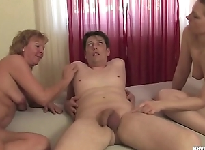 German trio alongside amateur matures coupled with anal concentratedly