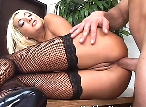 Mart doyenne female parent takes in the money anal