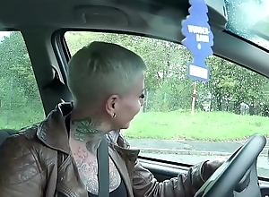 GERMAN SCOUT - TATTOO MILF Make fun of COX ANAL BEI Actors GEFICKT