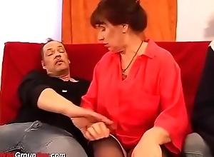 sexy grannys prankish DP