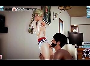 Experienced Impoverish relating to Hidden plus Sex-mad Cheerleader (patreon/Kissing Kat)