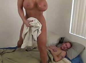 Sexy old woman shoved laddie - alura jenson