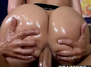 Brazzers.com - expansive stained asses - (kelly divine)- creampie greater than a spiritual a-hole