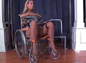 Festival milf cherie deville fond of gagged just about a straitjacket and wheelchair smoke
