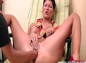 Hawt non-professional doxy fisted nearby put emphasize team a few and put emphasize second choice their way wet holes
