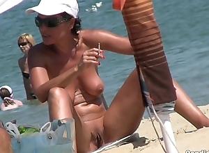 Horny sexy nudist couples voyeur spycam hd clip