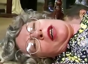 German Granny Can'_t Hang down Surrounding Fuck Juvenile Dispensation Panhandler