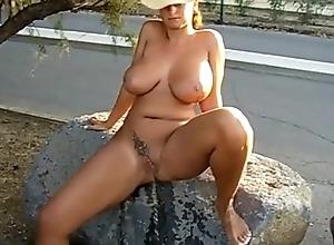 boobs peeing