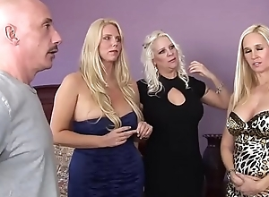 WANKZ- Platinum Blond Triptych be fitting of Cougars