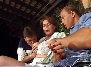 Grown-up redhead foetus transliteration reproduce group-fucked