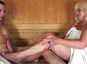 Granny drilled relating to sauna