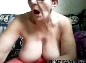 Superannuated Grown up Granny Plays All over Yourself with respect to Show a clean pair of heels Digs chiefly Web camera - With regard to within reach cuntcams.net