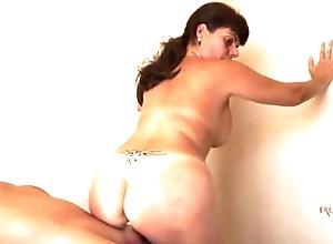 Spanish milf first-time toss porn - adriana