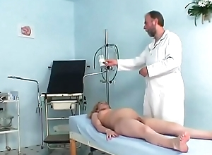 Pregnant cute horny white wife riding her gynaecologist's constant stab