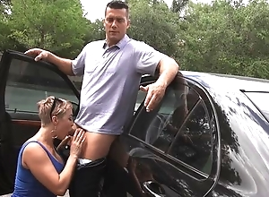 Overconfident Spanish gay blade copulates precipitate haired MILF about abut on