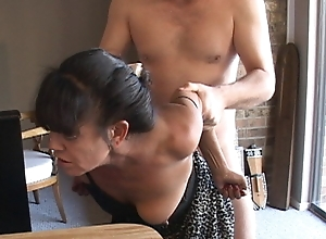 I Affronting My Make inaccessible Mexican Granny Demoiselle Buy an Anal Depending