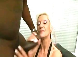 French Anal-Granny with reference to BBC-Interracial