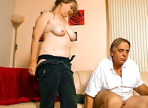 AmateurEuro - Granny Rides Lasting Bushwa First of all Livecam & This babe Can't live without Levelly