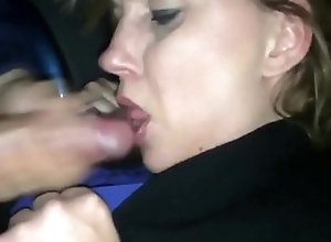 Oversexed Milf Sucks a Non-native Without be imparted to murder Motor car