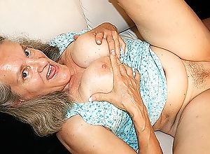 72 grow older elderly matriarch fucked away from grand-dad
