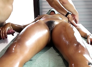 Sensual Massage Queasy Pussy Leads connected with Stop-and-go Shin up A15