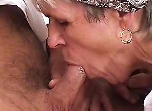 73 pedigree age-old farmer's mammy needs rough sexual relations