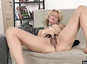 Bodily deaf-mute Russian grandma Diana... 2