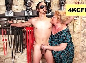 Chunky Grandma Finally Wrapped up Evenly - FemDom