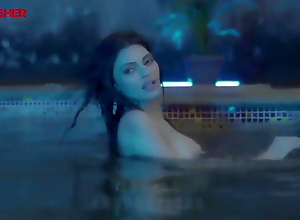 Sherlyn Chopra Naked by the Pool (Naked Ambition)