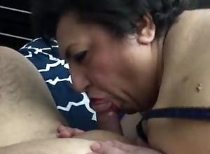 Horny Fat Granny Gives Good Head