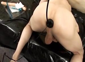 Mature Mistress Fucks Man Slaves (very dirty talking)