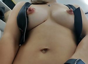 Wife comes back from gym and wants to feel my cock in her