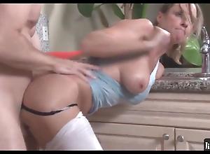 Stepson fucking hot mommy