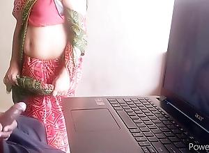 masturbating in front of Indian maid