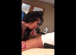 Milf Cougar from the Gym Seduced me to come to her House. BBC Lover