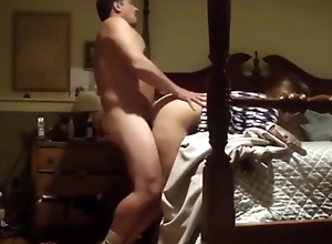 Cheating amateur wife with boss in hotel