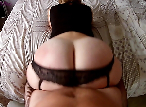 End of a party with my step sister and her big ass filmed in pov!