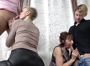Insane Group Sex Grannies Part 3