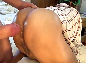 toothless gumjob then anal for Filipina
