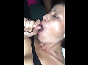 Wife has multiple orgasms while cuckold husband records