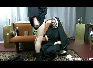Ariella Ferrera perverse nun