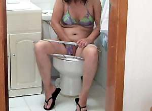 Pissing my wife, her sister, our niece and the maid, hairy p